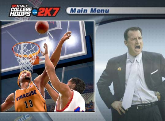 PS2 College Hoops 2007 Screenshots